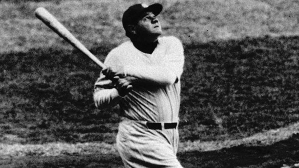 How many home runs did babe ruth hit in 1925-7486