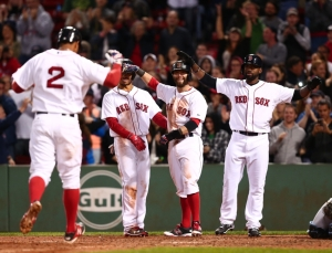 MLB: Tampa Bay Rays at Boston Red Sox